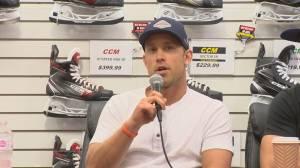 Stanley Cup champion Jaden Schwartz asks for more bone marrow donors