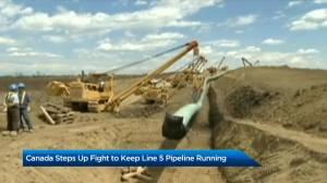 Canada faces closure of Enbridge's Line 5 pipeline (01:53)