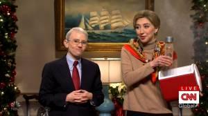 SNL features Dr. Fauci, Birx speaking to CNN on coronavirus vaccine rollout (05:32)