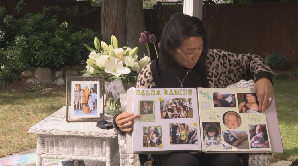 Click to play video: 'B.C. woman who lost husband to COVID trying to get answers'