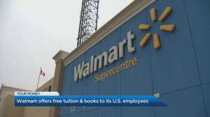 Walmart set to pay college tuition costs for U.S. employees (04:56)