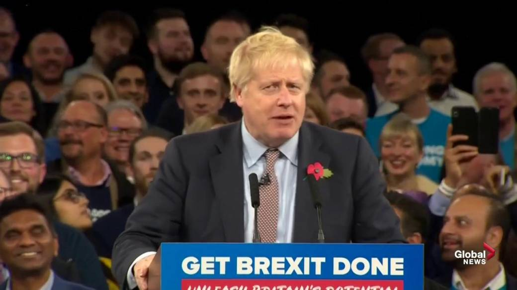 Boris Johnson, Jeremy Corbyn to square off in 1st U.K. general election debate