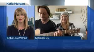Katie Morgan performing 'Leave'