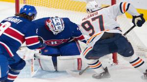 Oilers, Canadiens game postponed after 2 players enter COVID-19 protocol (00:24)