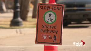 Shared streets re-open in Edmonton (01:51)