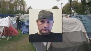 Calls for action on homeless camp after deadly home invasion suspect linked to Strathcona Park (02:12)