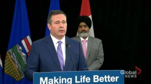 Kenney 'fundamentally disagrees' with past statements by speech writer