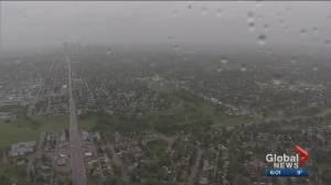 Power largely restored in Alberta after lightning strike