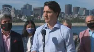 Trudeau targets O'Toole over Alberta's COVID-19 crisis (01:00)