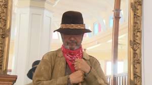 Okanagan storyteller recites B.C. poet's tales (01:05)