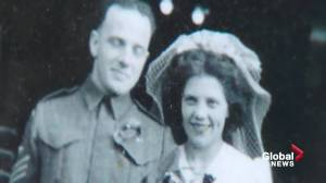 Edmonton war bride recalls her lengthy journey following the Second World War (02:33)