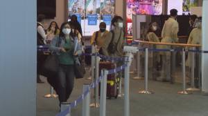 Canada welcomes back international travellers (02:14)