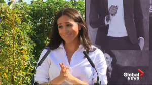 Meghan Markle redefines royal fashion with British charity line