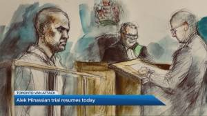 Toronto van attack trial heads into day 2 (05:04)