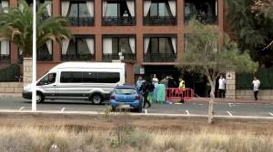 COVID-19: Small group of people leaves Canary Islands hotel under lockdown
