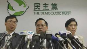 HK university siege nears end, as city braces for election (02:03)