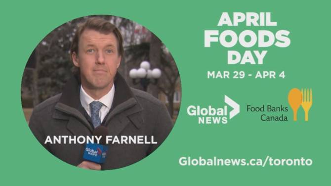 Click to play video: Global News recognizes April Foods Day