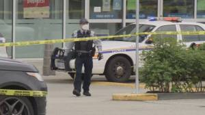 Broad daylight shooting at a busy Langley shopping mall (02:06)