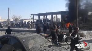 Car bomb detonates in Turkish-held border town in Syria