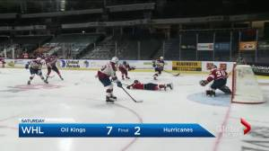 Hurricanes disappointed with performance in first week of WHL season (01:49)