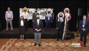 6 First Nations invest in Edson power project with loan backed by Alberta government (01:43)