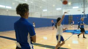 Ontario Tech Ridgebacks basketball teams take the court