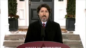 Coronavirus: Trudeau says COVID-19 vaccines are what he thinks about 'when I wake up in the morning, when I go to bed, and every hour in between' (01:04)