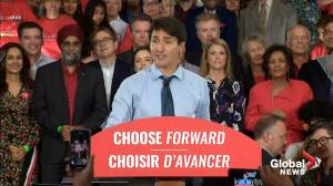 Federal Election 2019: Trudeau says over a million new jobs created since 2015