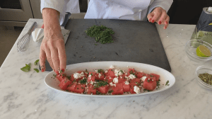 Cooking 101: Watermelon & feta salad