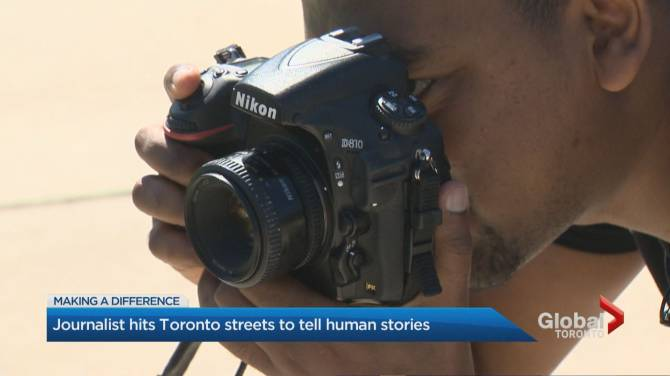 Photojournalist from Ethiopia cracking emotional shells of busy Toronto residents