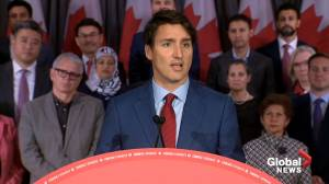 Federal Election 2019: Trudeau says he'll always stand against discrimination 'at home and on world stage'