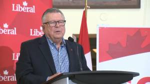 Federal Election 2019: Ralph Goodale makes concession speech in Regina-Wascana riding (00:47)