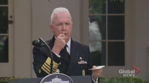 Coronavirus: U.S. admiral demonstrates new rapid COVID-19 test as distribution set to begin