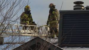 Man in life-threatening condition after house fire in Calgary's Temple neighbourhood