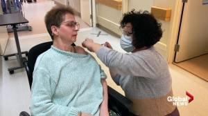 Vaccine confusion at Alberta senior care homes (02:08)