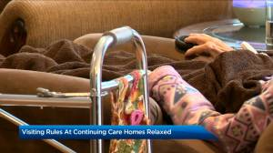 Rules for visiting continuing care facilities relaxed as of Thursday