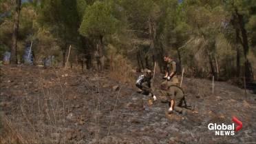 Israel exchanges fire with Hezbollah along Lebanon border