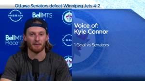 RAW: Winnipeg Jets Kyle Connor Interview – Apr. 12 (03:33)