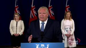 Coronavirus: Ford says extension of emergency orders will allow Ontario to act swiftly if needed