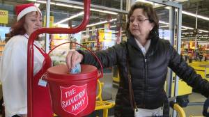 Whitby volunteer pays it forward during Salvation Army Kettle Campaign