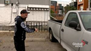 Calgary man baffled after truck towed off private property and damaged (01:59)