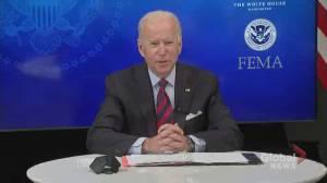 Hurricane Ida: 1 person dead, a million more without power in Louisiana, Biden confirms (00:55)