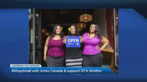 #ShopSmall with AMEX Canada and support GTA families