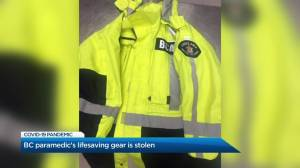 Vancouver paramedic has lifesaving gear stolen from car