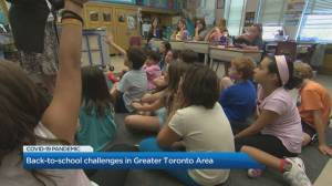 Back-to-school challenges in the Greater Toronto Area amid COVID-19 pandemic