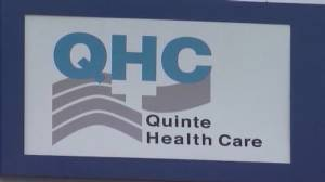 Quinte Health Care officials update media as third wave of the pandemic continues. (02:24)