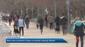 Ontario residents react to 'stark' COVID-19 projections