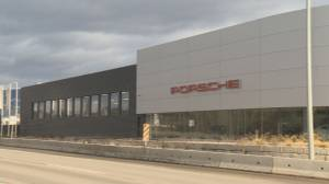 Additional protection measures being considered after vandals target the Porsche dealership in Kelowna for the third time (02:12)
