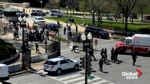 National Guard troops respond to U.S. Capitol after vehicle ramming (00:58)