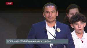 Manitoba Election: NDP's Wab Kinew promises to hold PCs to account